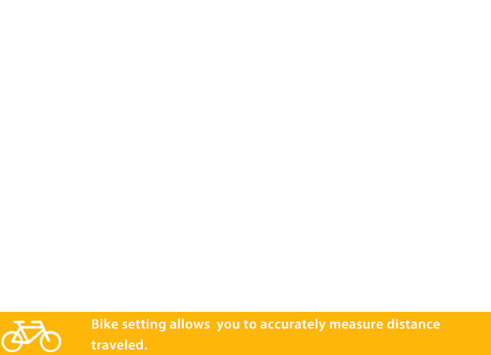 Measurement of reliable travelling distance by inputting detailed information on a bicycle