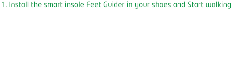 1. Just Walking with Feetguider